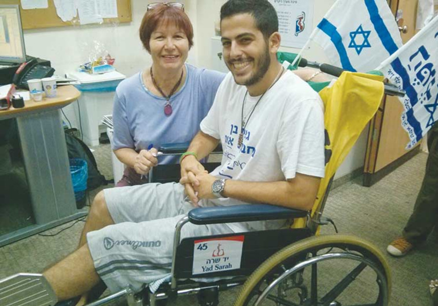 Donation of wheelchairs from donors from the United States