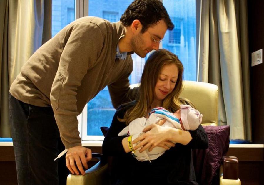 Chelsea Clinton's new born baby Charlotte