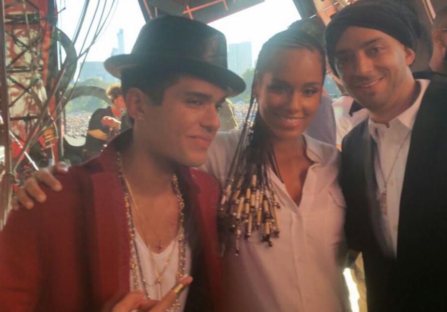 Alicia Keys and Idan Raichel