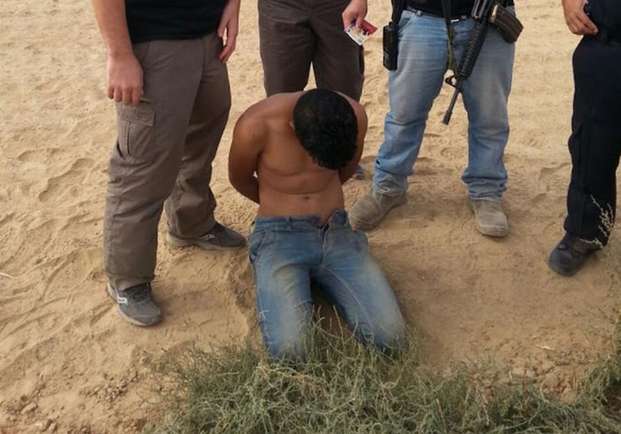 Palestinian arrested near Gaza border