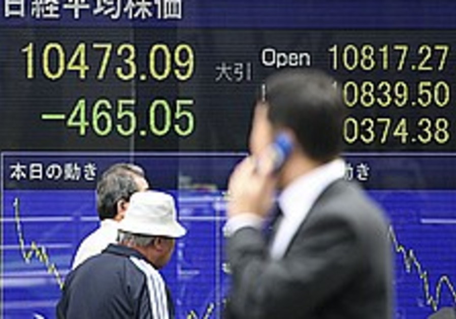 Asian markets continue to plunge