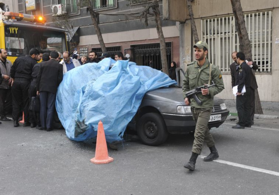 Iranian nuclear scientist assassination