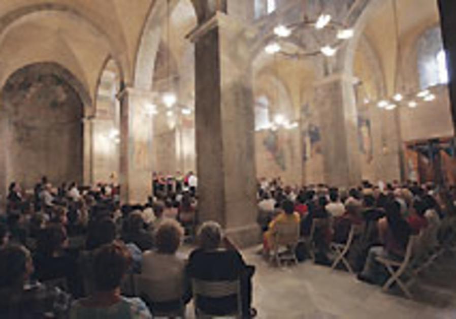 Classical Review:  Abu Ghosh Festival