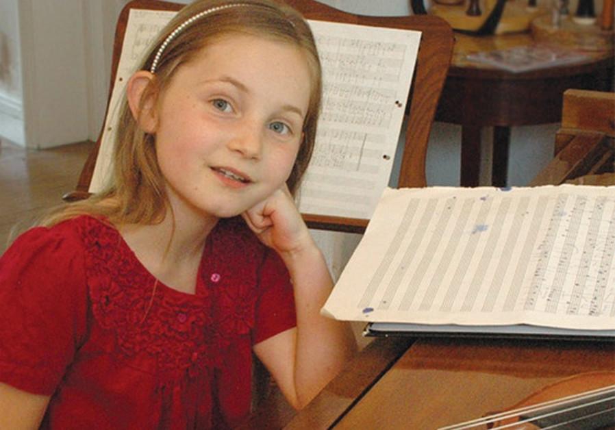 NINE-YEAR-OLD British musician-composer Alma Deutscher