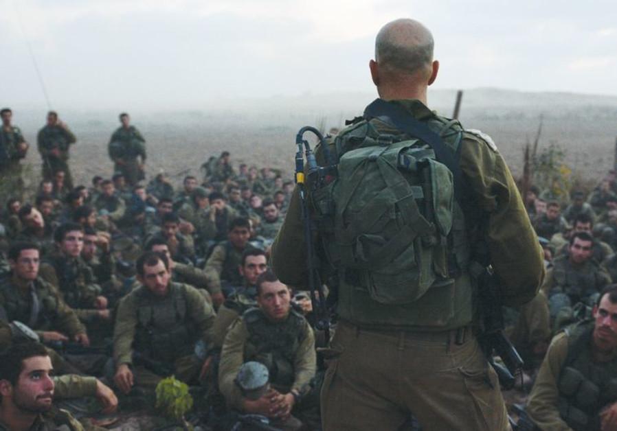 IDF in Gaza border