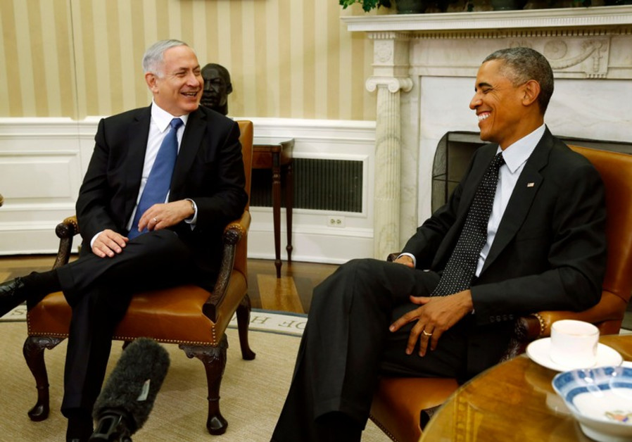 Netanyahu and Obama