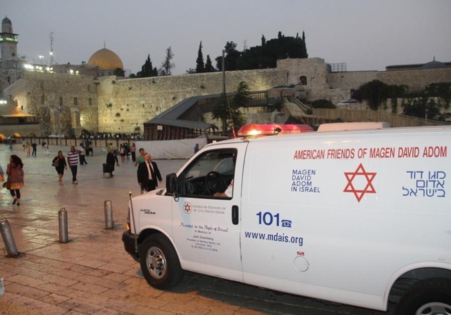 MDA ambulance