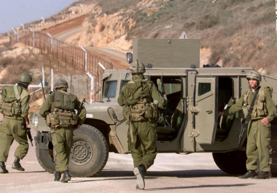 IDF troops on Lebanon border [file]