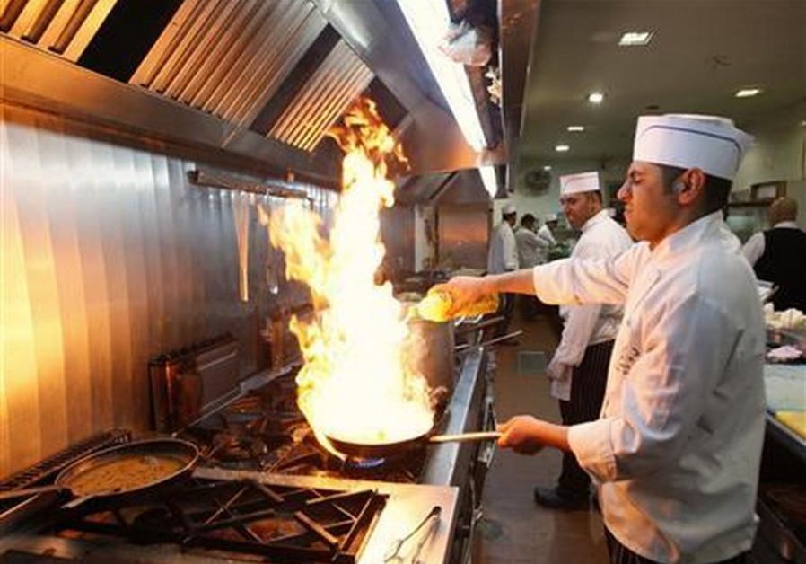 Palestinian chef