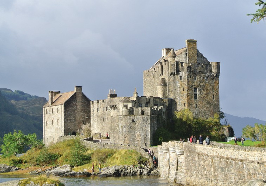 THE EILEAN DONAN Castle in western Scotland