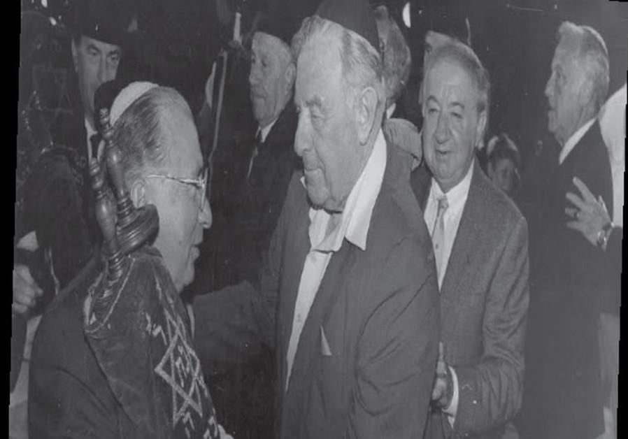 Former Jerusalem mayor Teddy Kollek