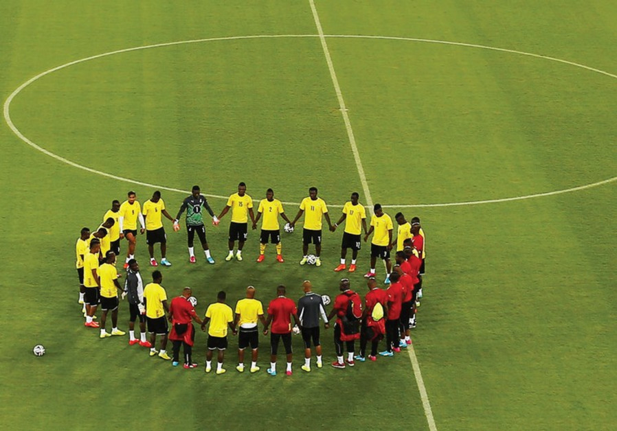 Ghana's national soccer team