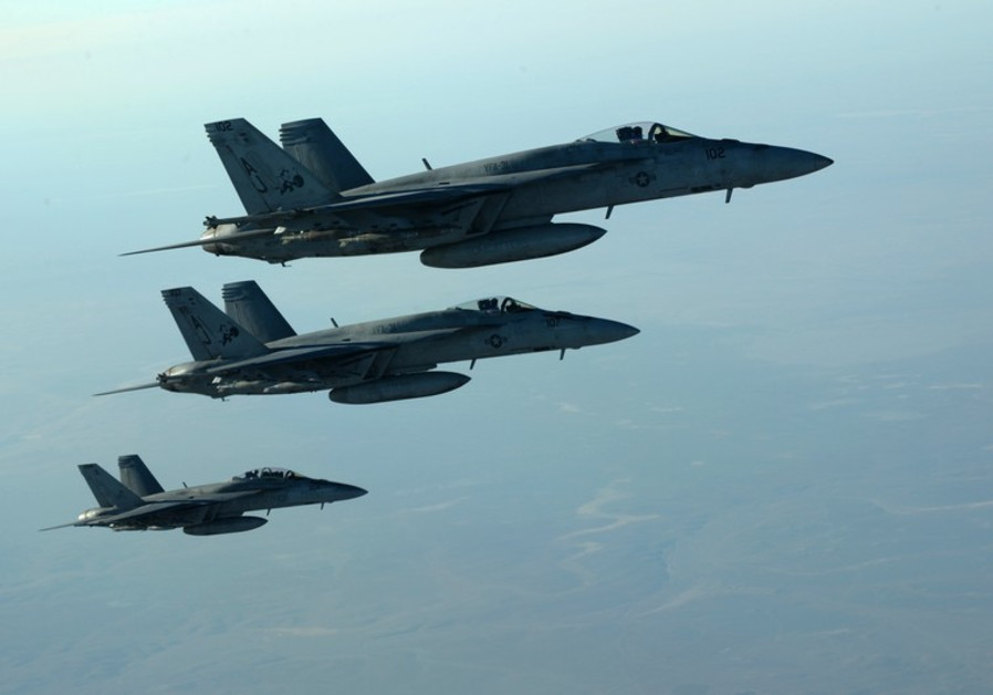 US jets over Iraq