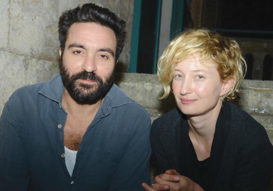 Saverio Costanzo (left) with Alba Rohrwacher