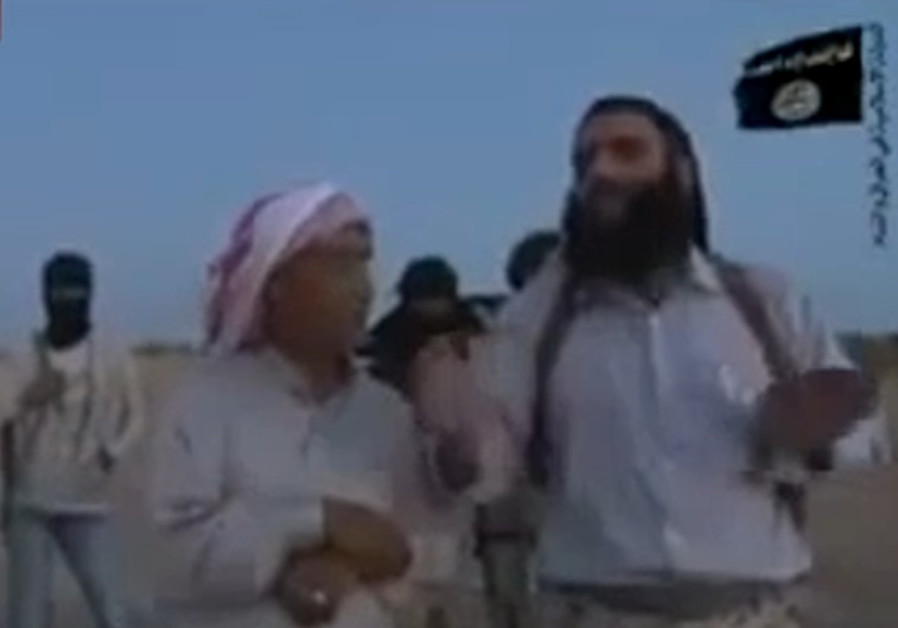 Jihadists stoning woman for adultery in Syria.