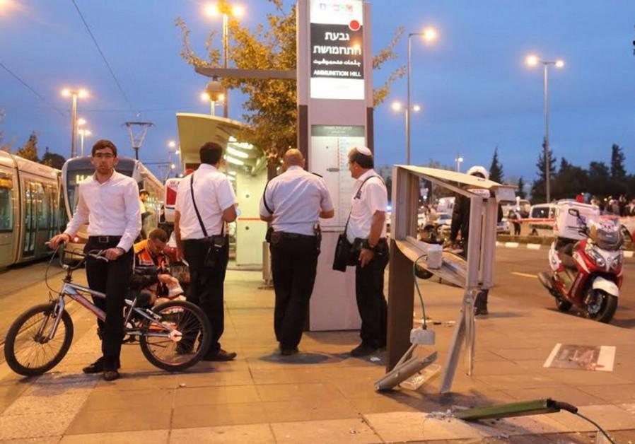 Jerusalem suspected terror attack