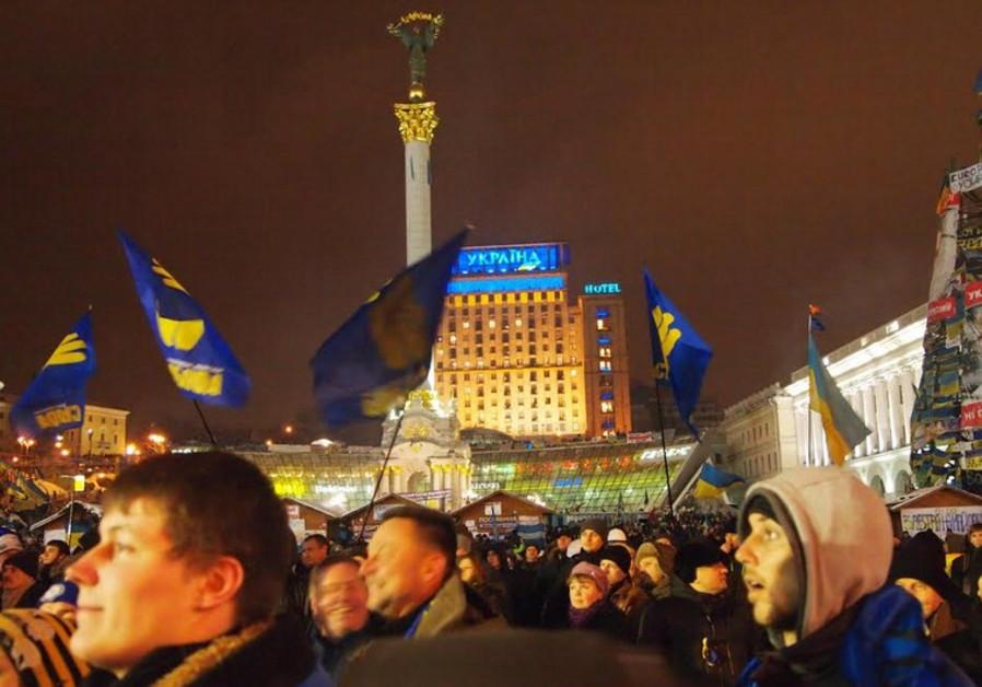 Kiev's Maidan Square