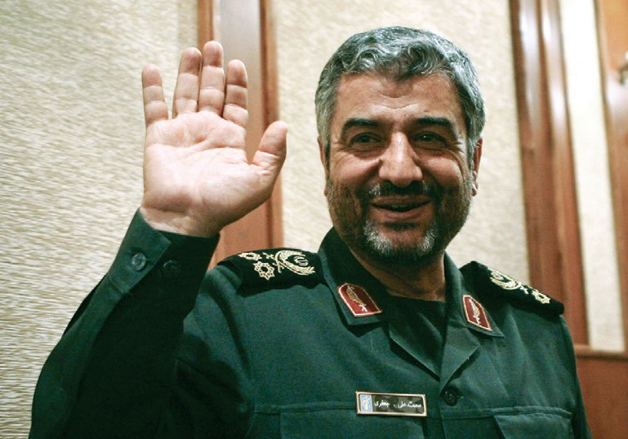 Revolutionary Guards head Maj.-Gen. Mohammad Ali Jafari
