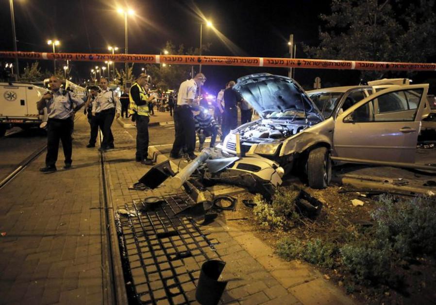 Terror attack in Jerusalem