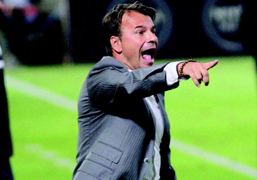 Maccabi Haifa coach Aliksandar Stanojevic