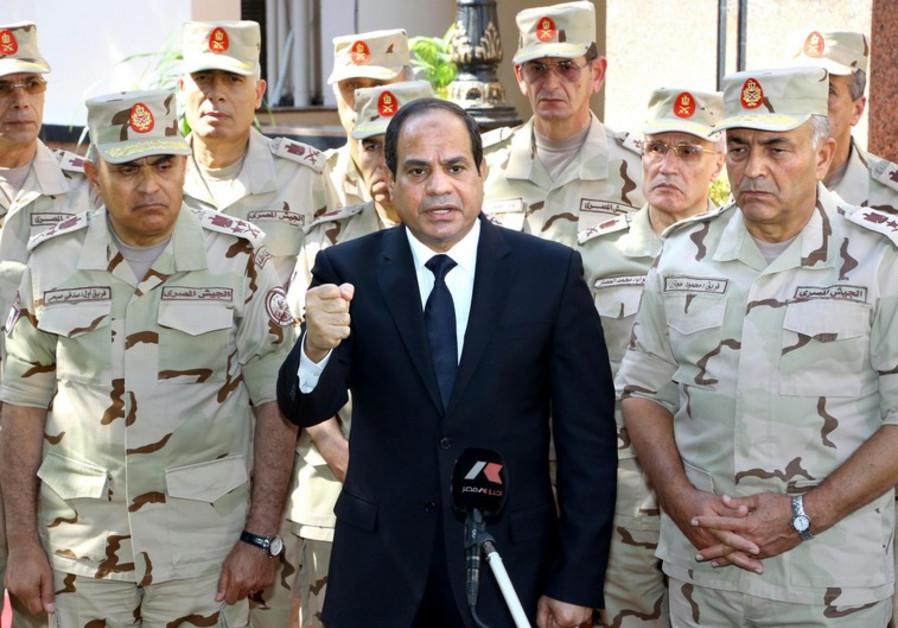 Egyptian President Abdel Fattah