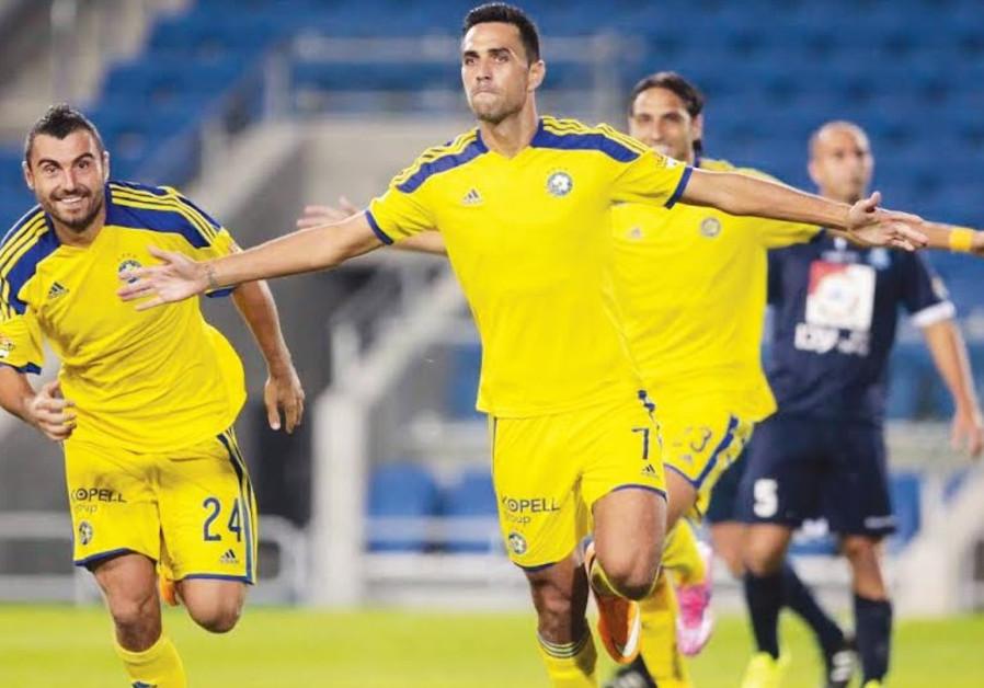 Maccabi Tel Aviv's Eran Zahavi