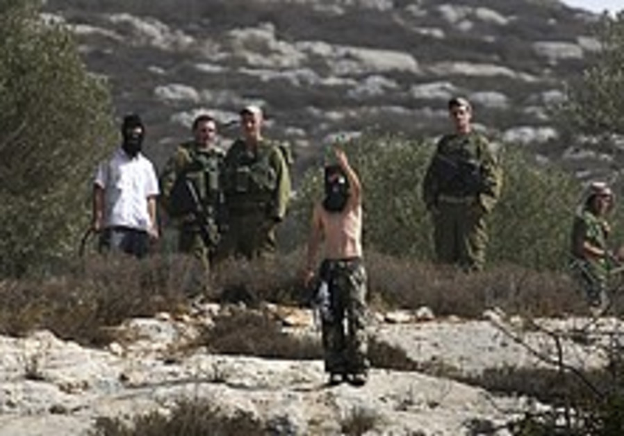 Barak calls for crackdown on settler violence