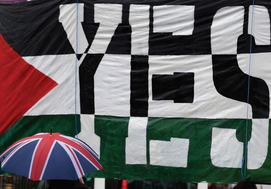 A pro-Palestine demonstration