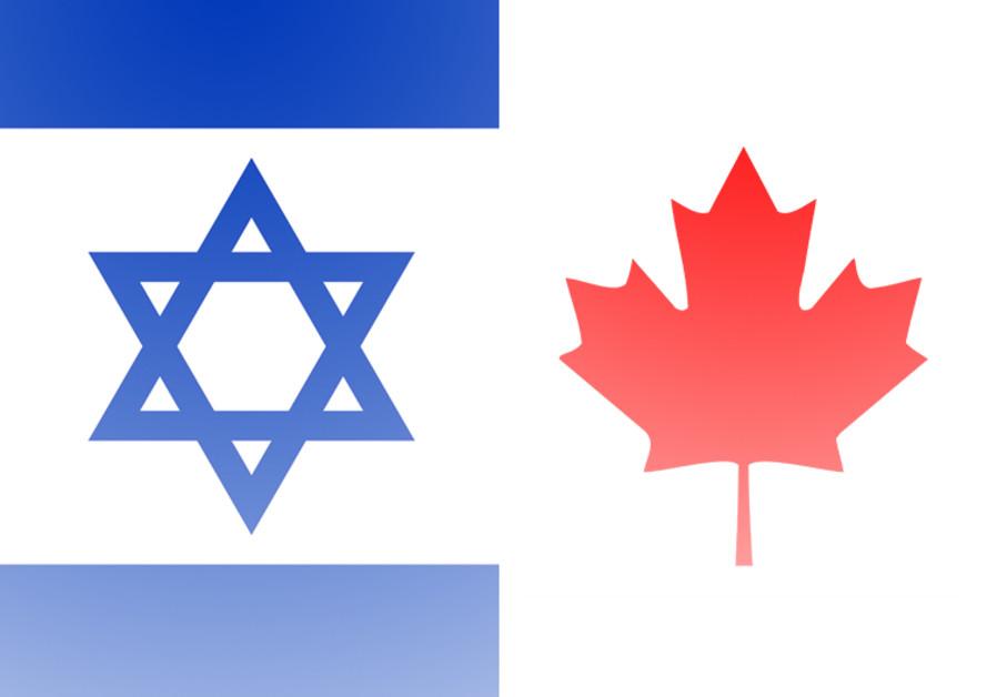 Israel Canada flags