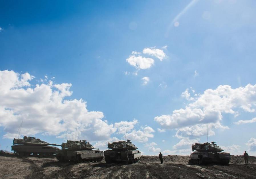 Merkava Mk. 4 tanks