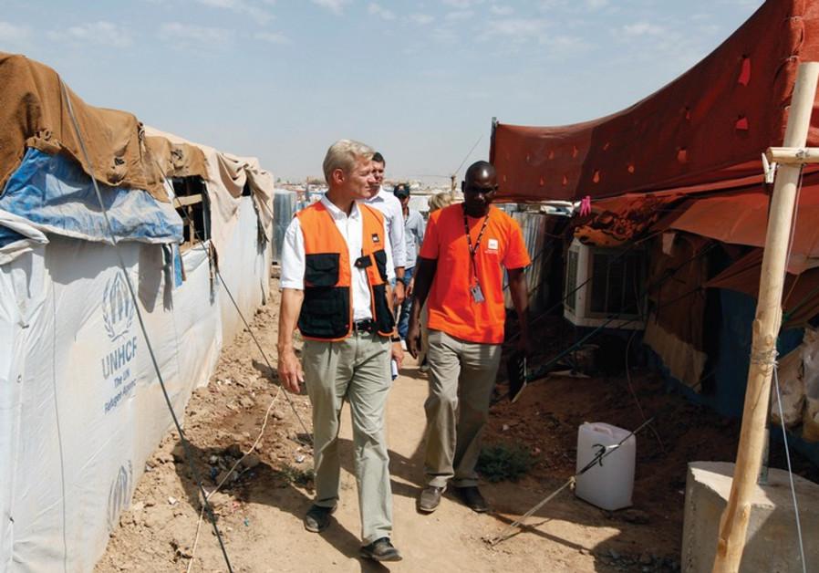 Secretary General of the Norwegian Refugee Council (NRC), Jan Egeland