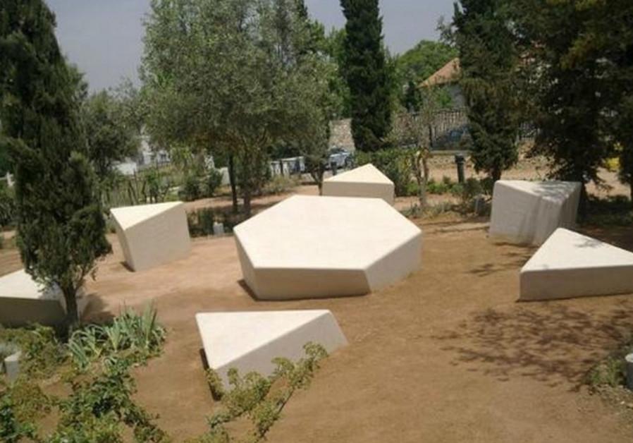 Holocaust memorial in Athens, Greece