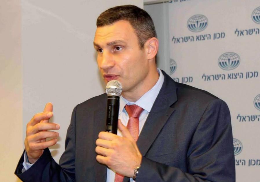 KIEV MAYOR Vitali Klitschko