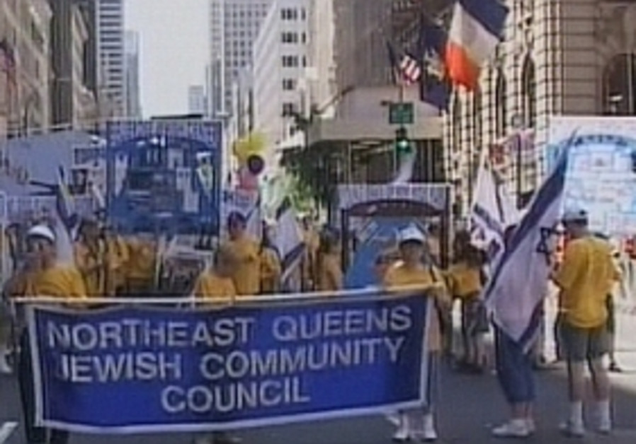 american us jews march in israel parade nyc 298