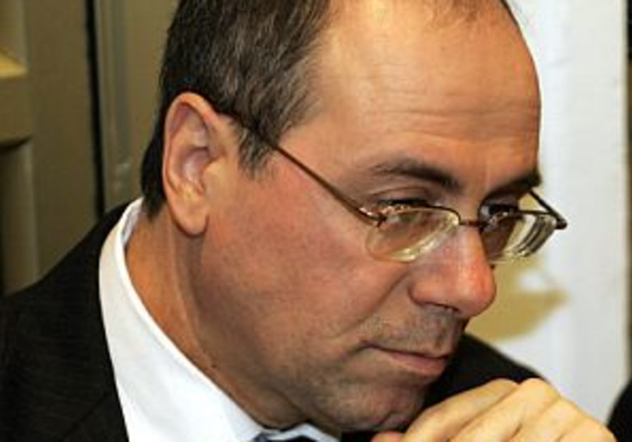 silvan shalom looks pensive or sorry 298.88