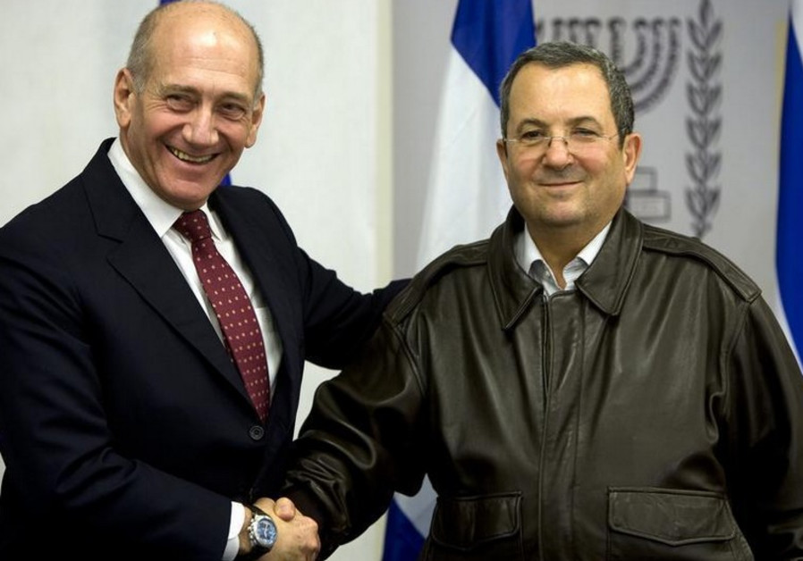 Ehud Olmert and Ehud Barak