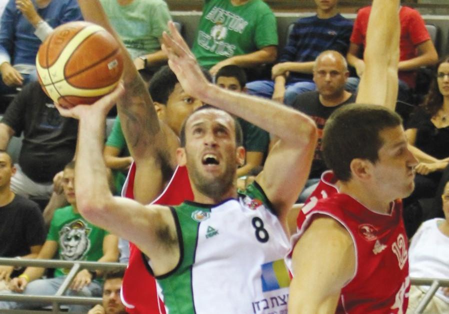 Maccabi Haifa sharp-shooter Dagan Yavzuri