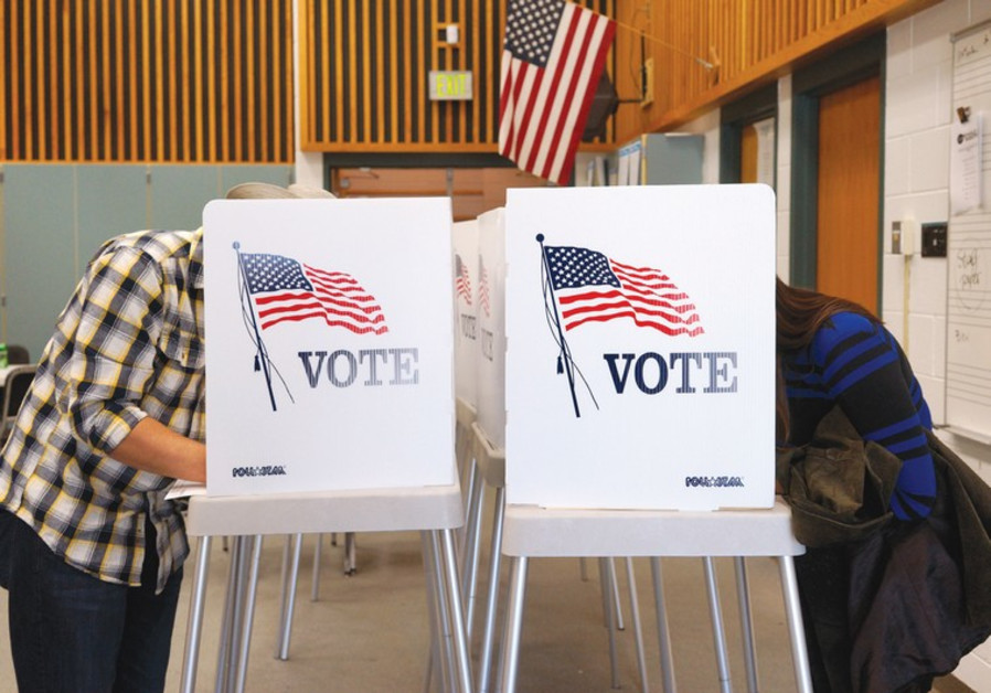 COLORADO RESIDENTS vote in the US midterm elections last week