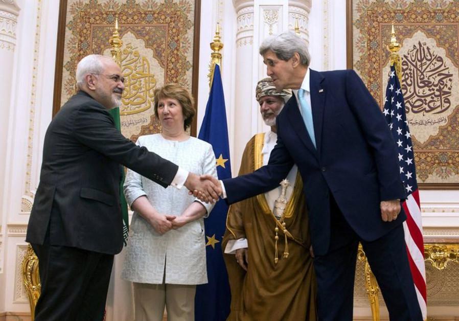Kerry and Iranian FM Zarif