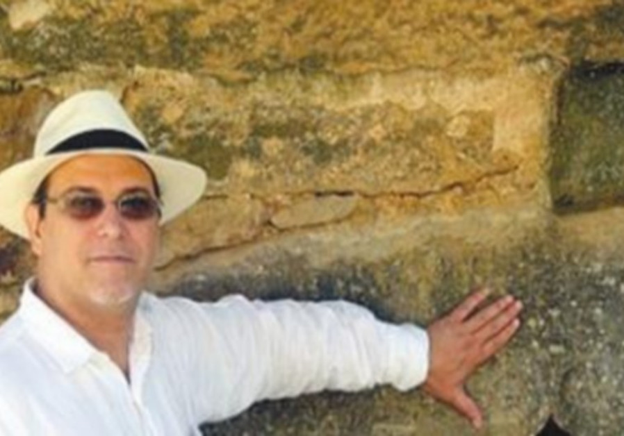 Prof. Jesus Jambrina of Viterbo University, Wisconsin, poses for The Jerusalem Post