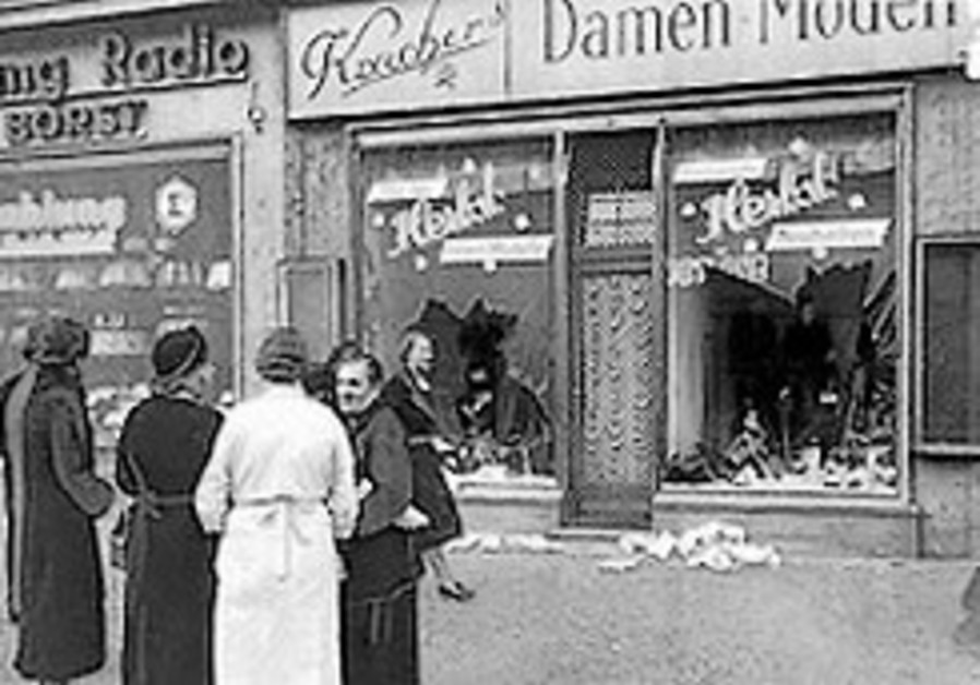 Ahead of Kristallnacht, Germany vows to fight anti-Semitism