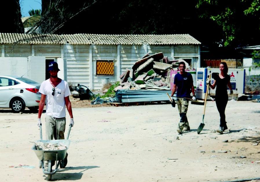 Les jeunes bâtisseurs de Sderot