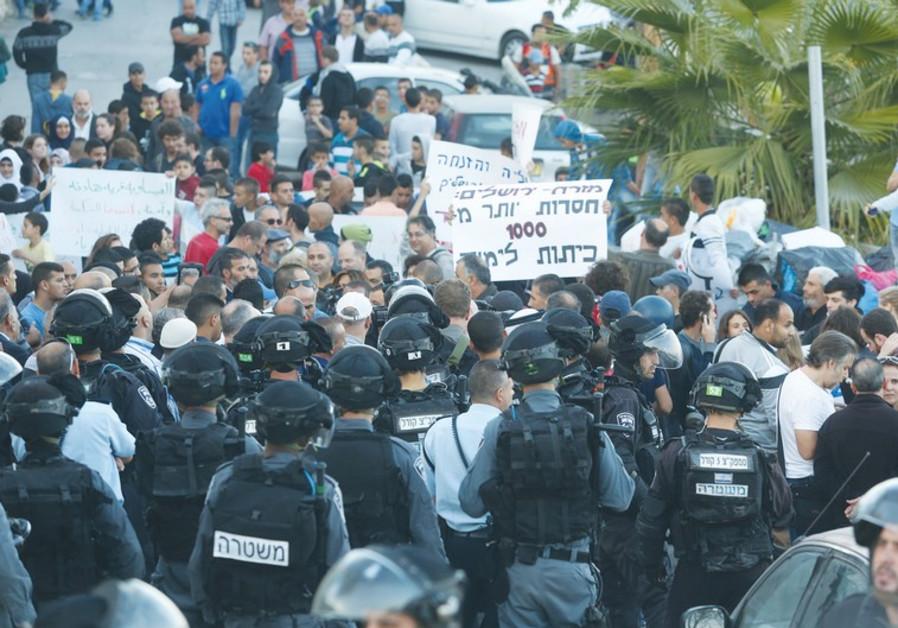 Demonstrations in Issawiya