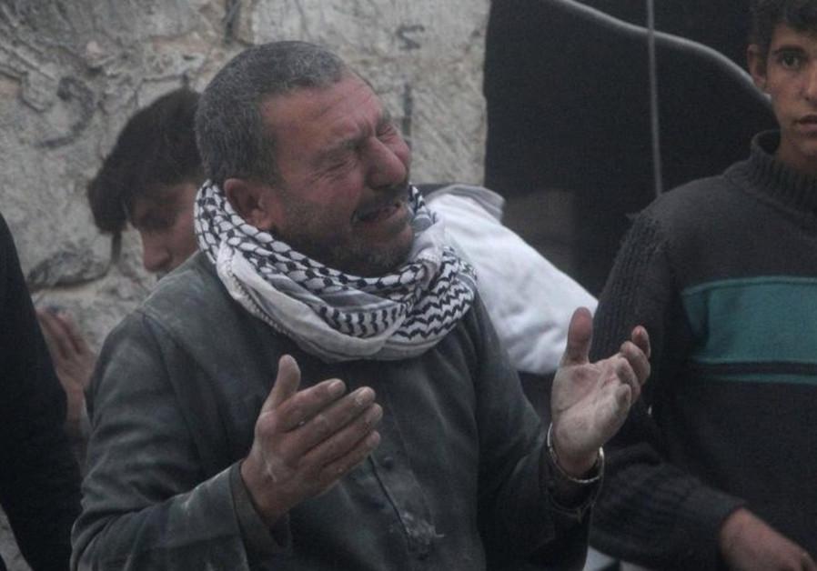 Syrian man in Aleppo