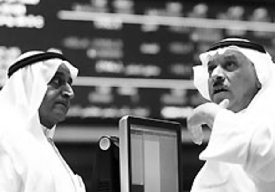 Financial crisis moves to Gulf states