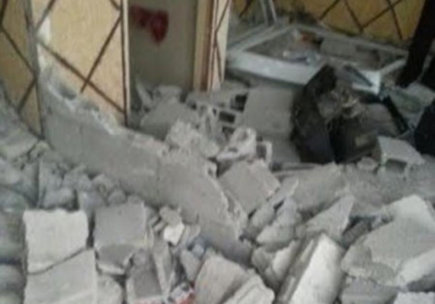 Demolished east Jerusalem home