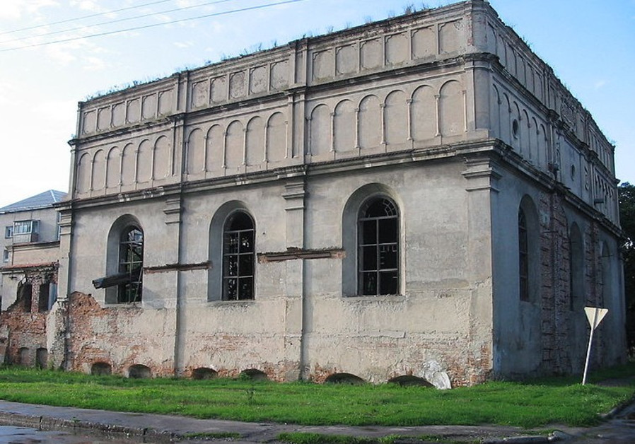 Great Synagogue in Brody