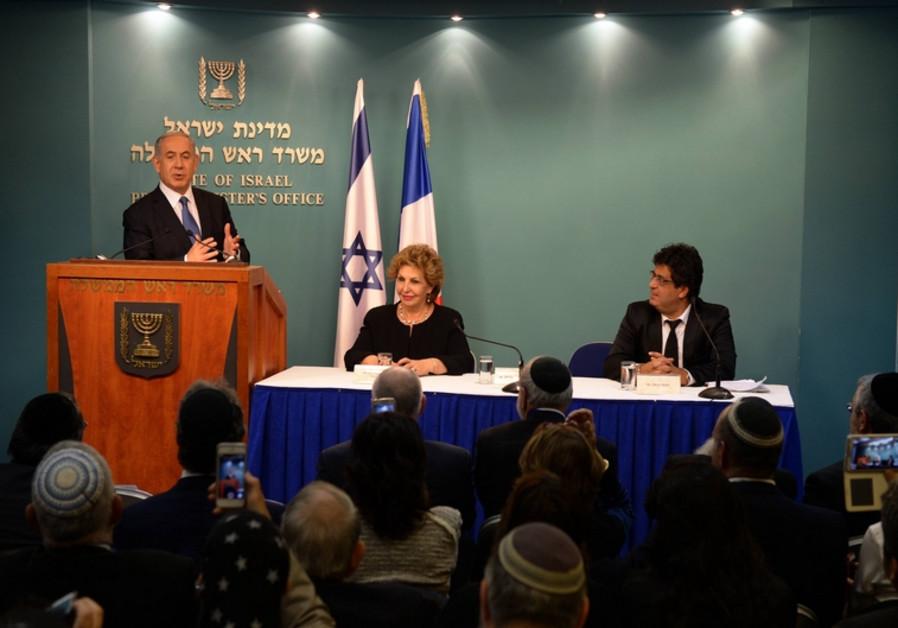Netanyahou s'adresse à la communauté francophone