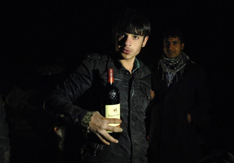 iran wine