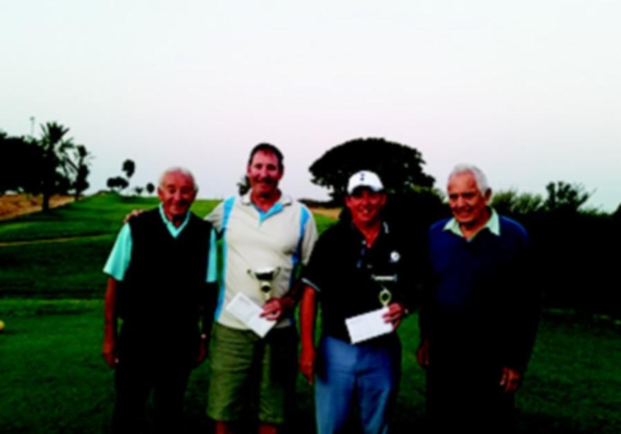Ga'ash Golf ESRA tournament winners